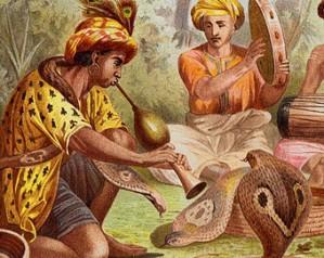 encantadores de serpientes