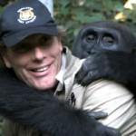 Gorila se reune con su viejo amigo humano