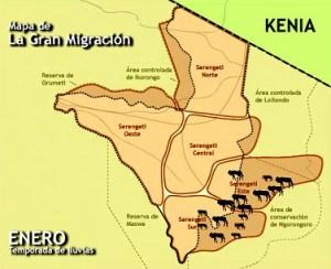 mapa la gran migracion