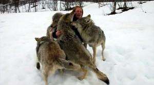 anita y los lobos