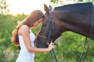 mujer caballo
